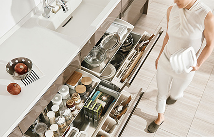 Kitchen Shelf Stocker   Combining Ease Of Use And Capacity